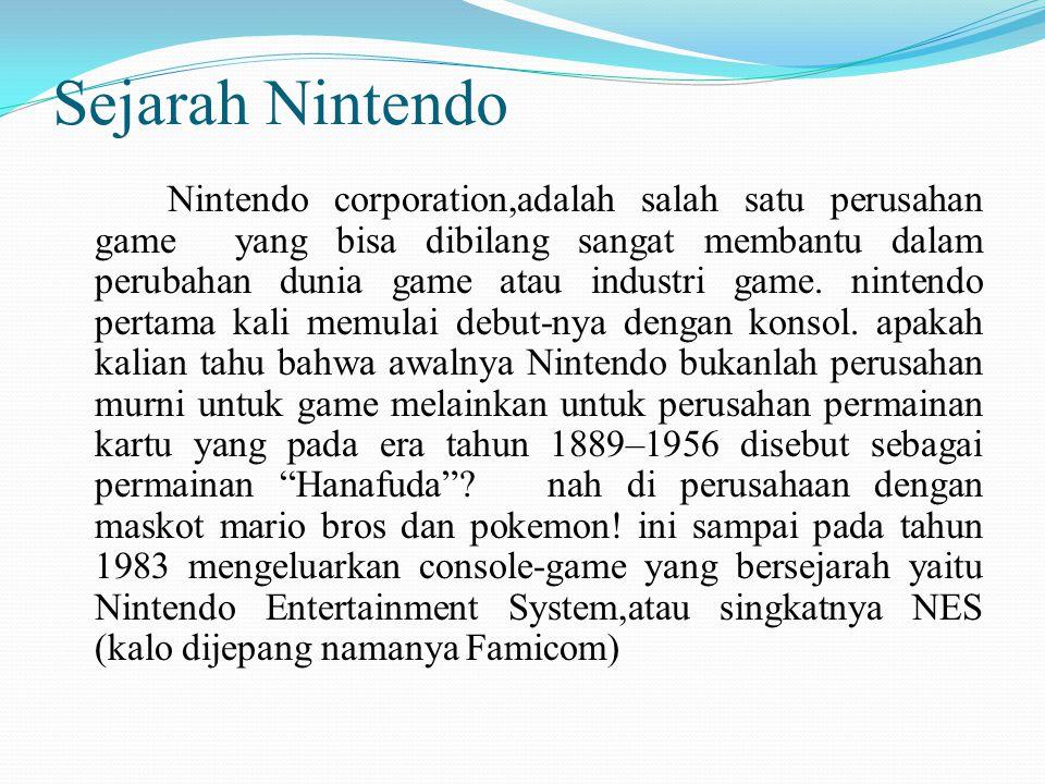 Sejarah Nintendo