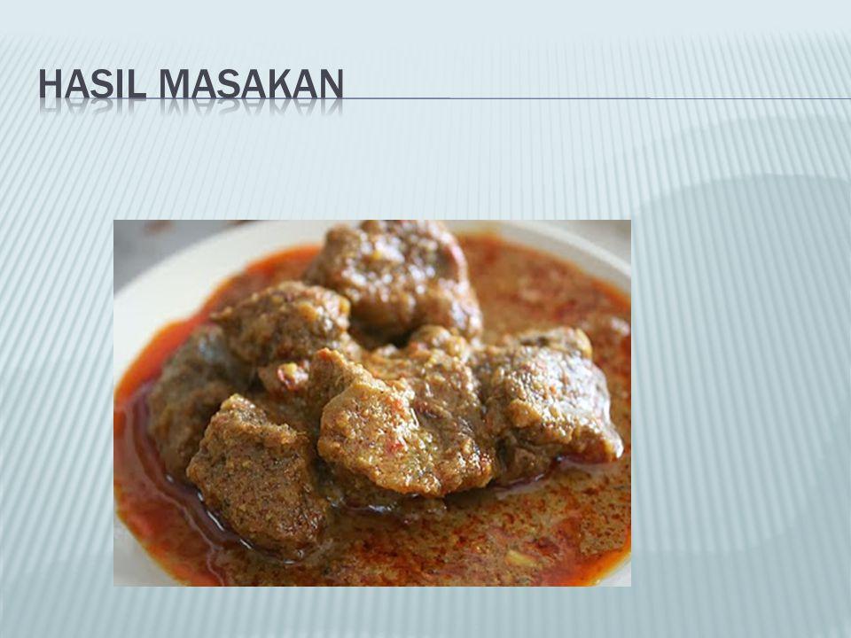 HASIL MASAKAN