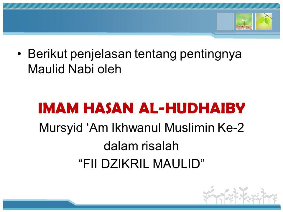 IMAM HASAN AL-HUDHAIBY