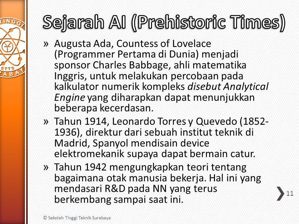 Sejarah AI (Prehistoric Times)