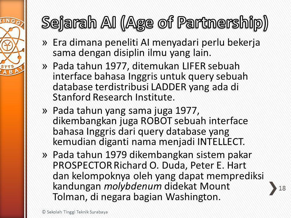 Sejarah AI (Age of Partnership)