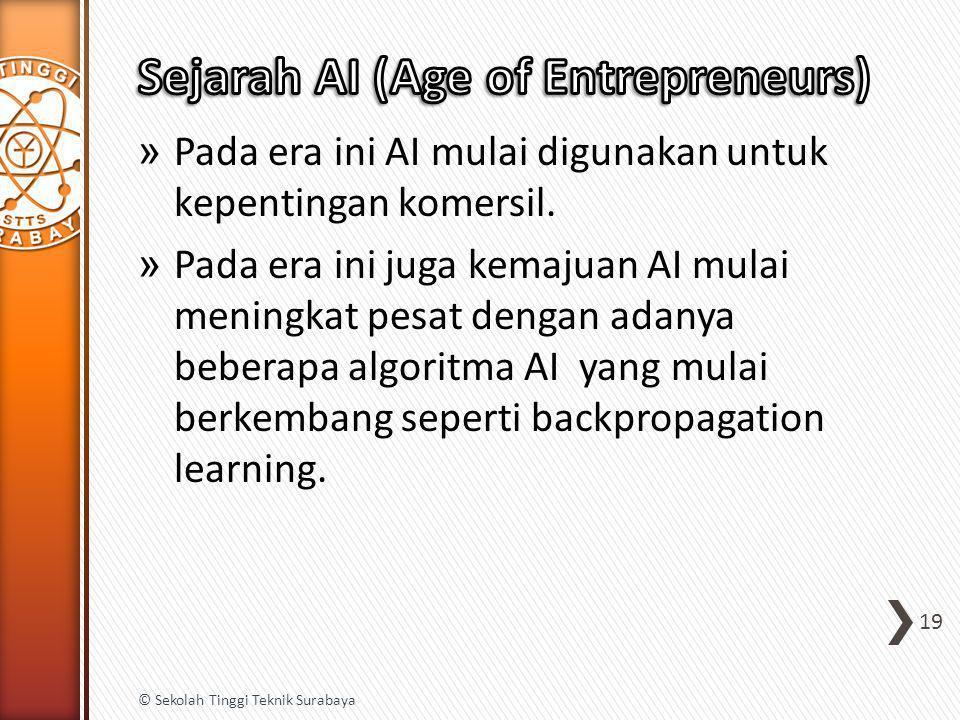 Sejarah AI (Age of Entrepreneurs)