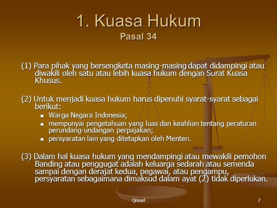 1. Kuasa Hukum Pasal 34