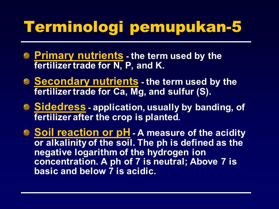 Terminologi pemupukan-5