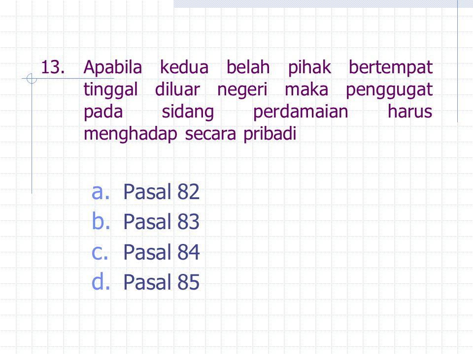 Pasal 82 Pasal 83 Pasal 84 Pasal 85