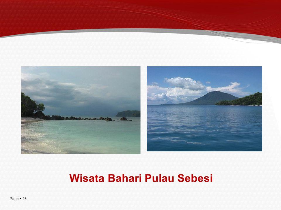 Wisata Bahari Pulau Sebesi