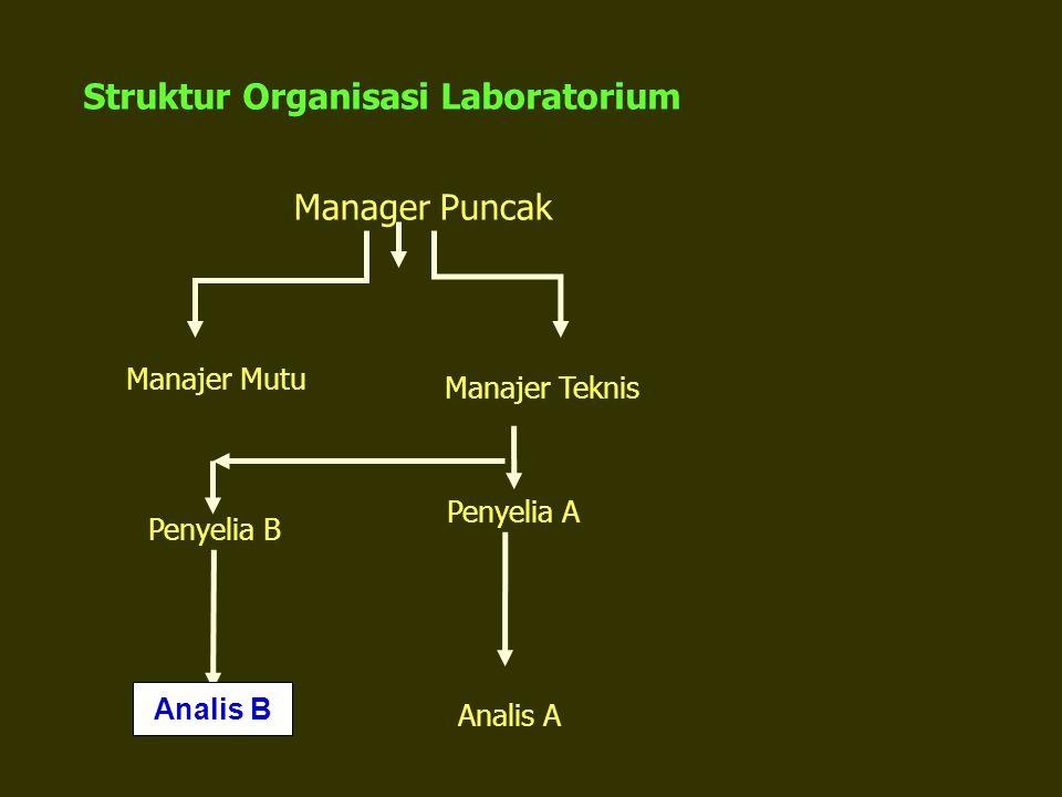 Struktur Organisasi Laboratorium