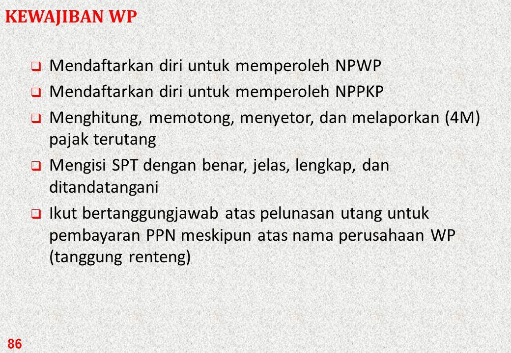Mendaftarkan diri untuk memperoleh NPWP