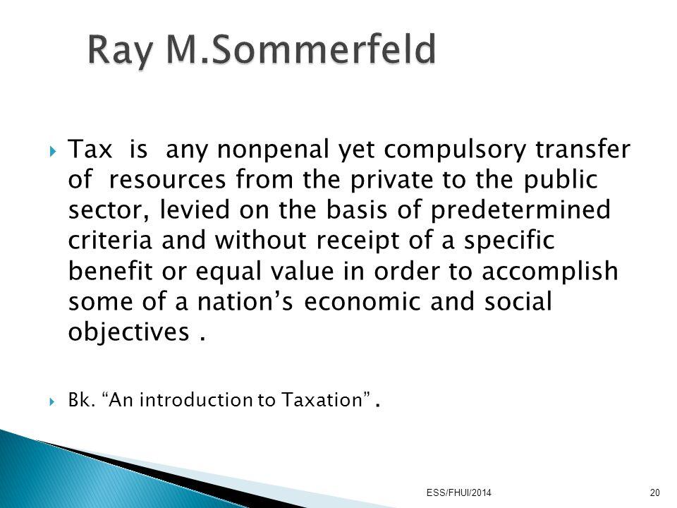 Ray M.Sommerfeld