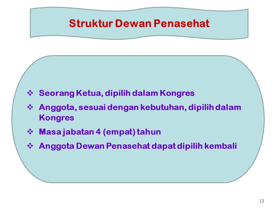 Struktur Dewan Penasehat
