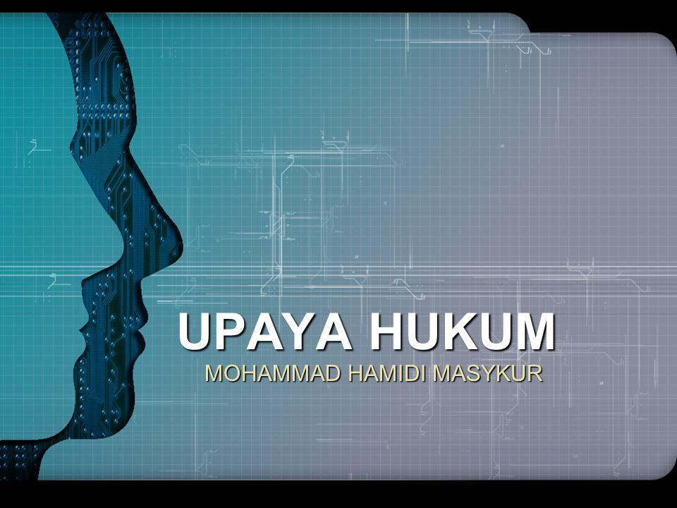 MOHAMMAD HAMIDI MASYKUR