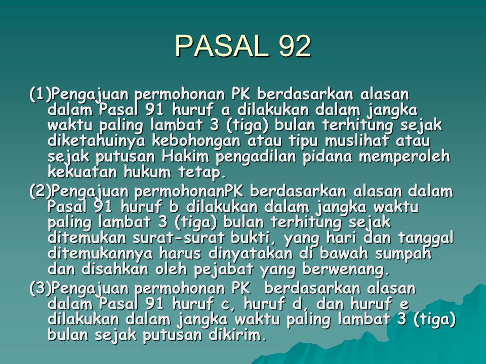 PASAL 92