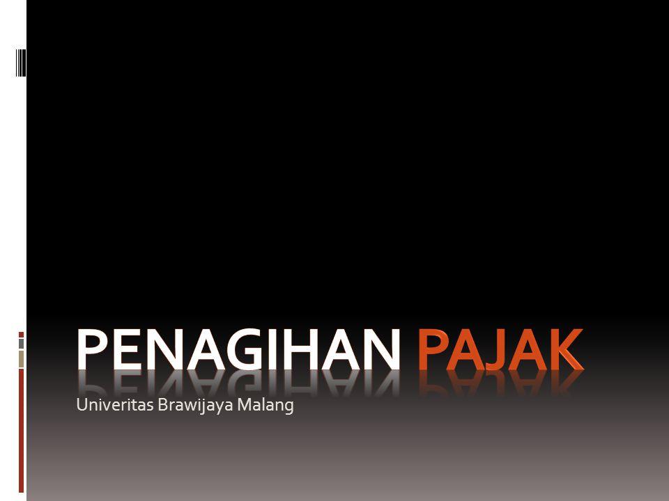 penagihan Pajak Univeritas Brawijaya Malang