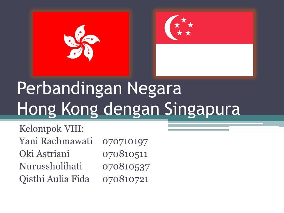 Perbandingan Negara Hong Kong dengan Singapura