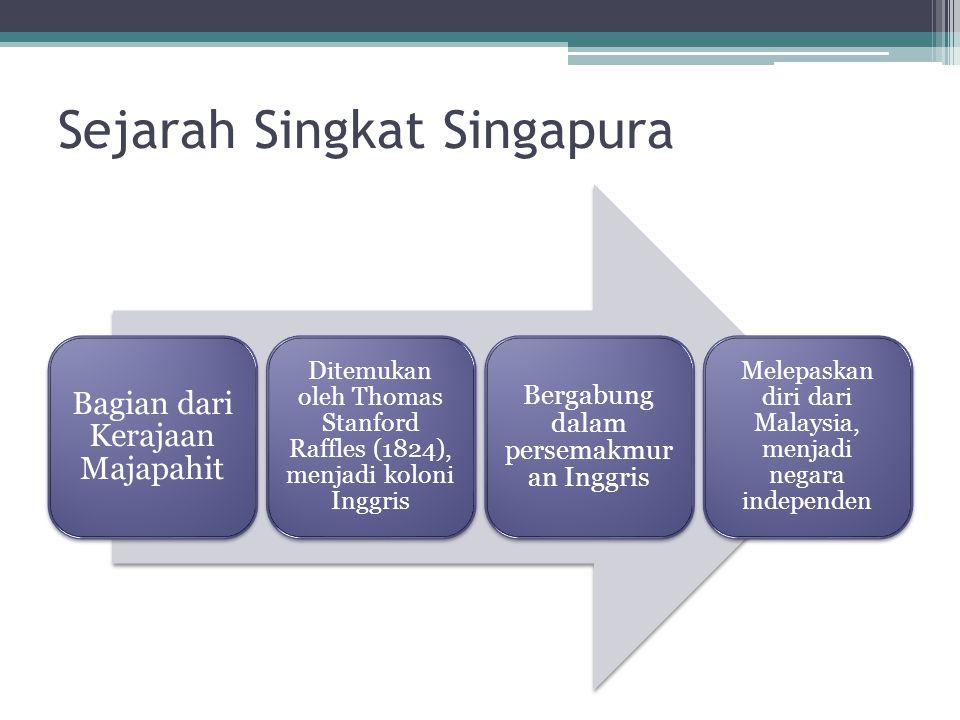 Sejarah Singkat Singapura