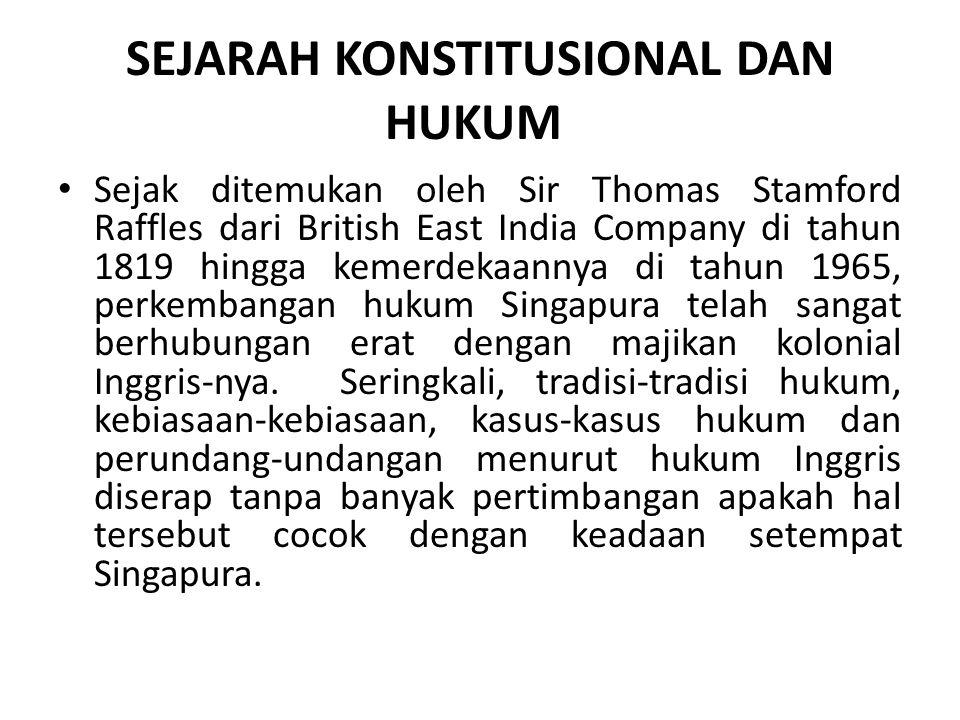 SEJARAH KONSTITUSIONAL DAN HUKUM