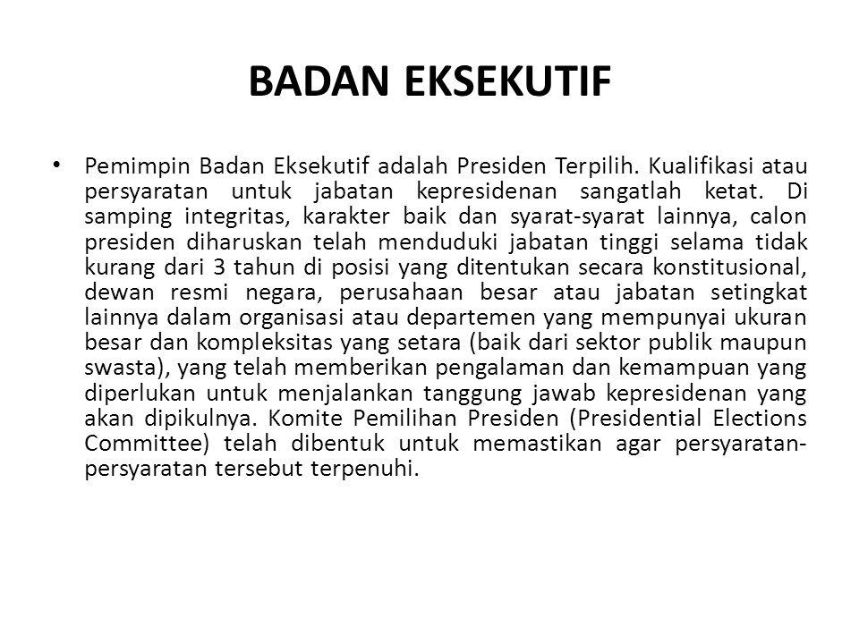 BADAN EKSEKUTIF