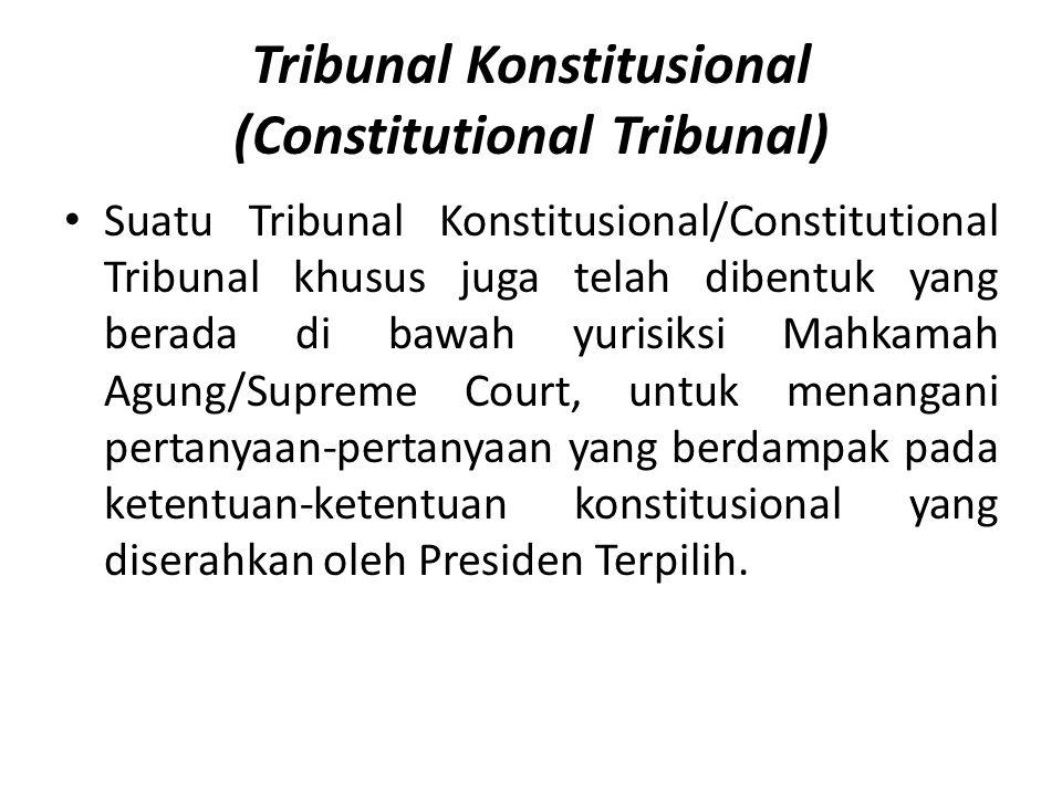 Tribunal Konstitusional (Constitutional Tribunal)