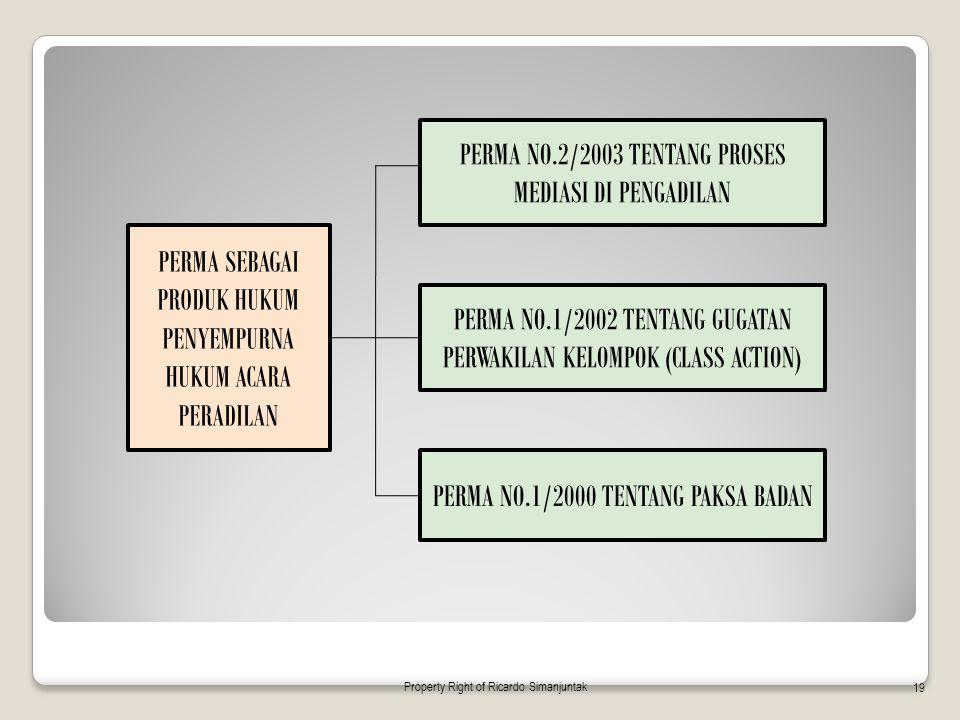 PERMA NO.2/2003 TENTANG PROSES MEDIASI DI PENGADILAN