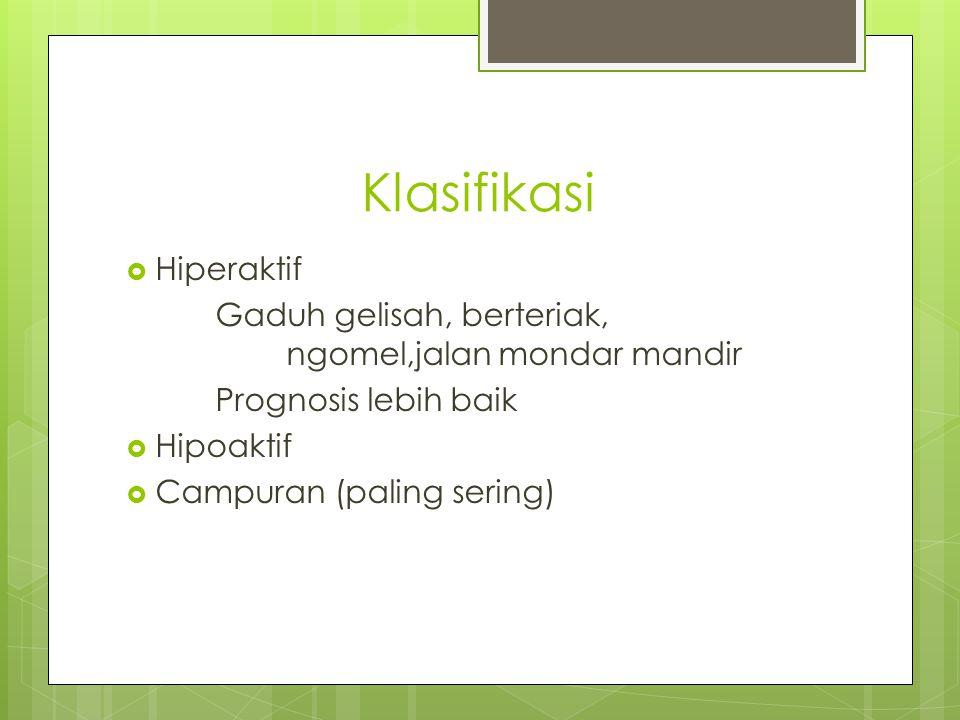 Klasifikasi Hiperaktif