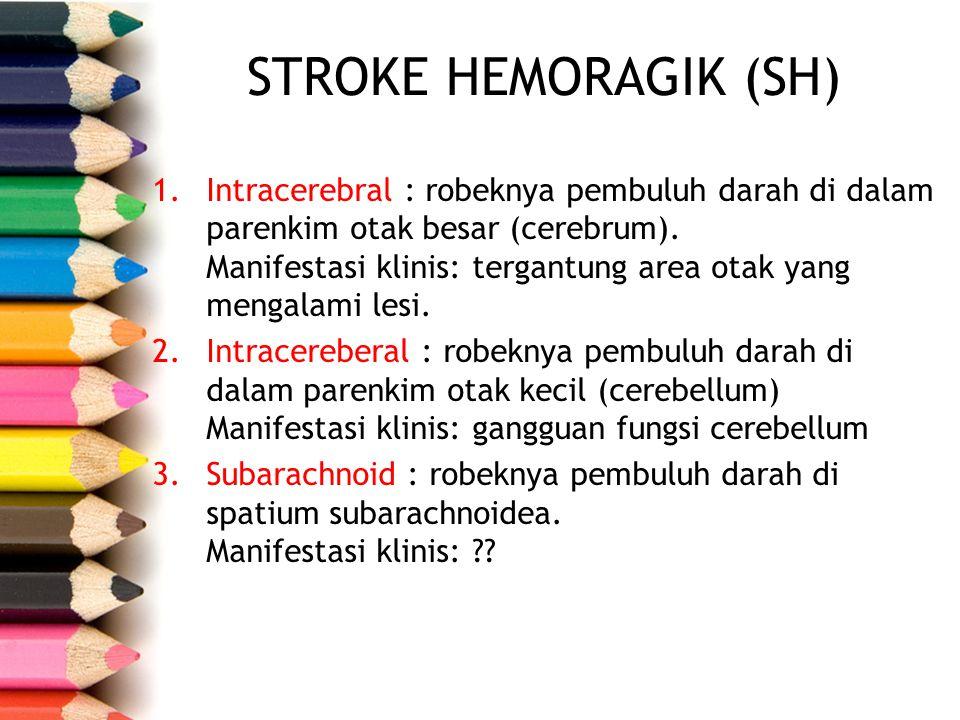 STROKE HEMORAGIK (SH)