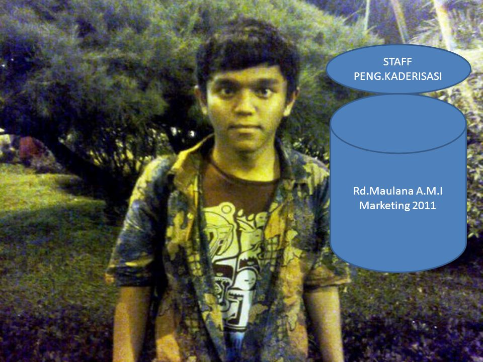 STAFF PENG.KADERISASI Rd.Maulana A.M.I Marketing 2011