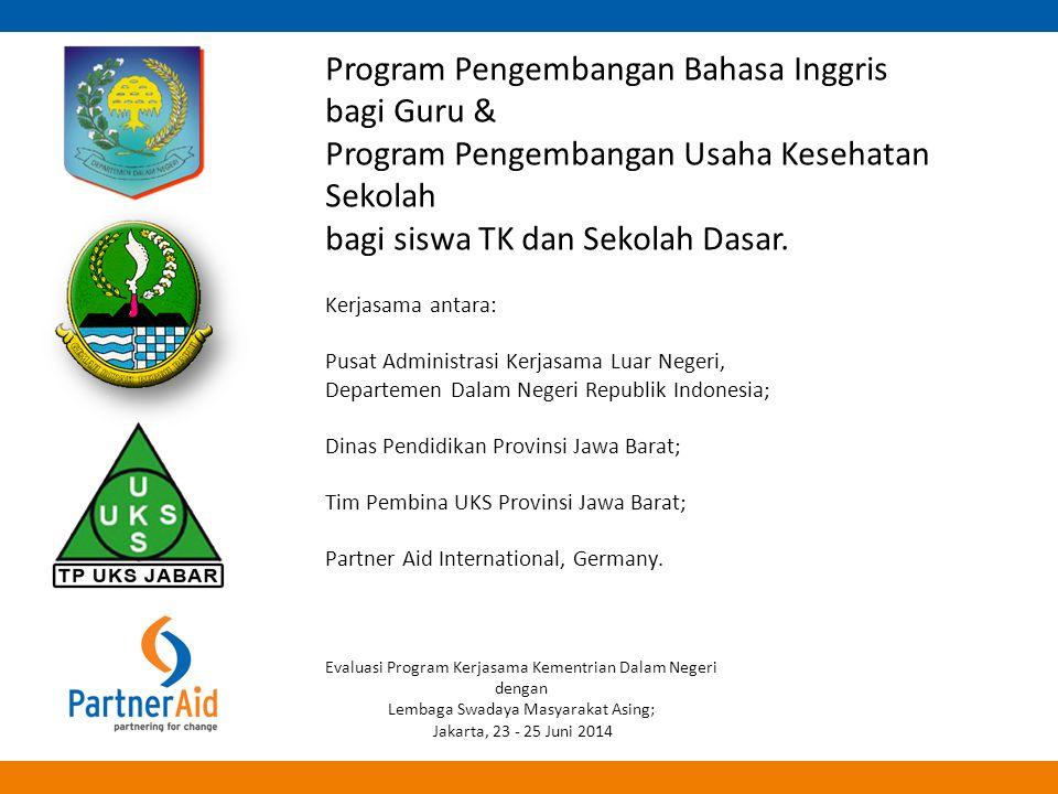 Program Pengembangan Bahasa Inggris bagi Guru &