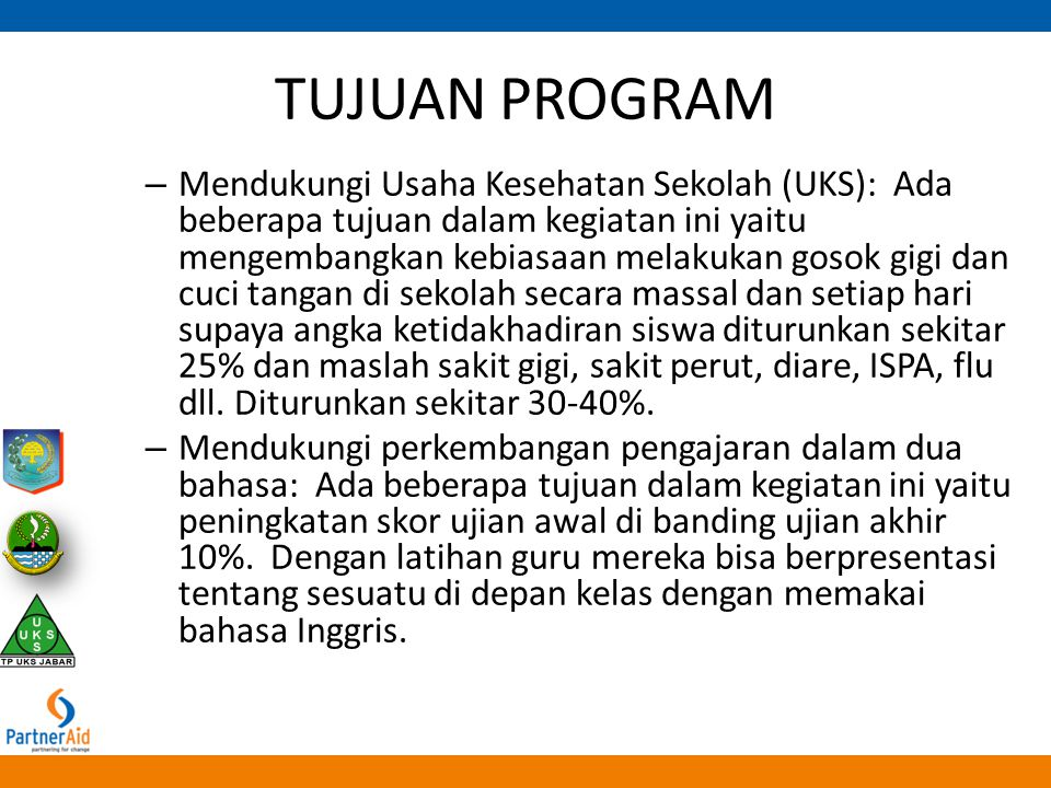 TUJUAN PROGRAM