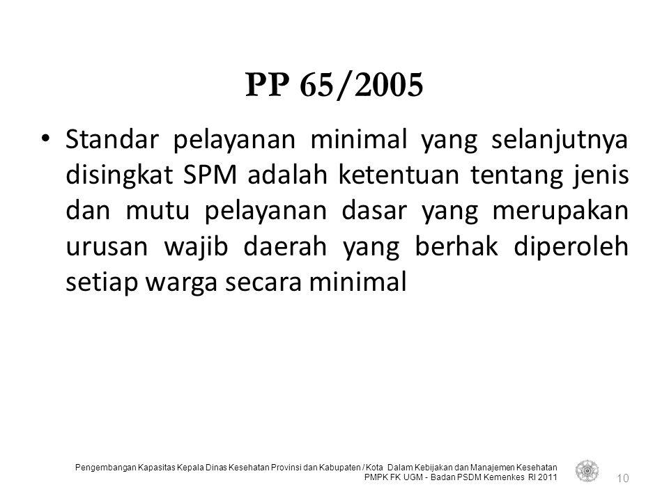 PP 65/2005