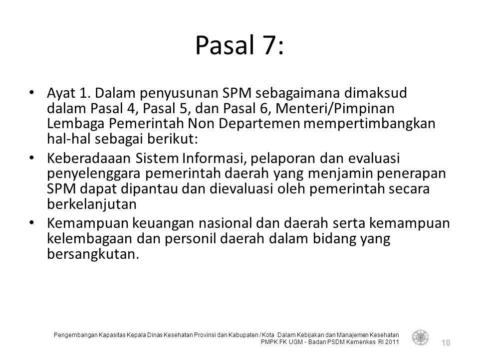 Pasal 7: