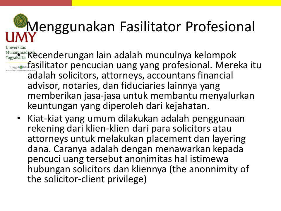 Menggunakan Fasilitator Profesional