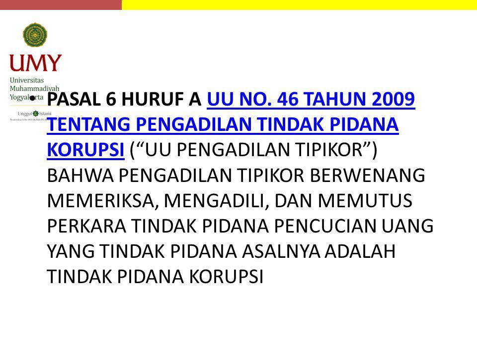 PASAL 6 HURUF A UU NO.