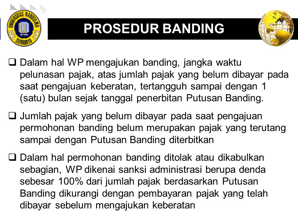 PROSEDUR BANDING