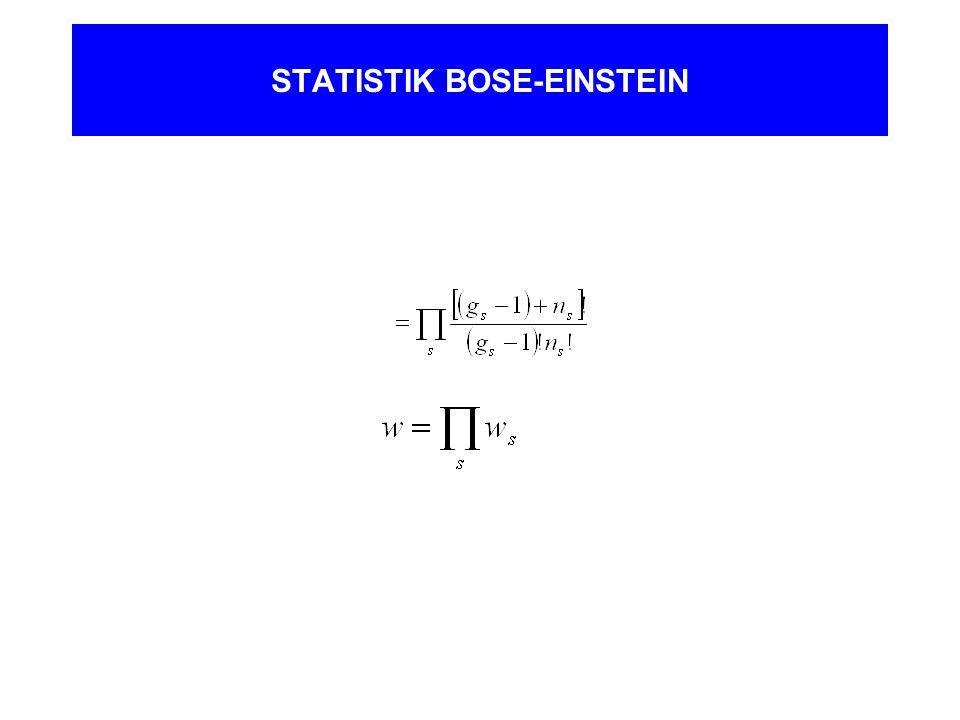 STATISTIK BOSE-EINSTEIN