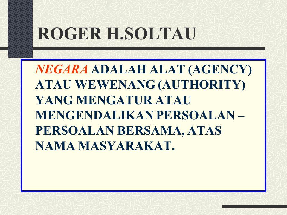 ROGER H.SOLTAU
