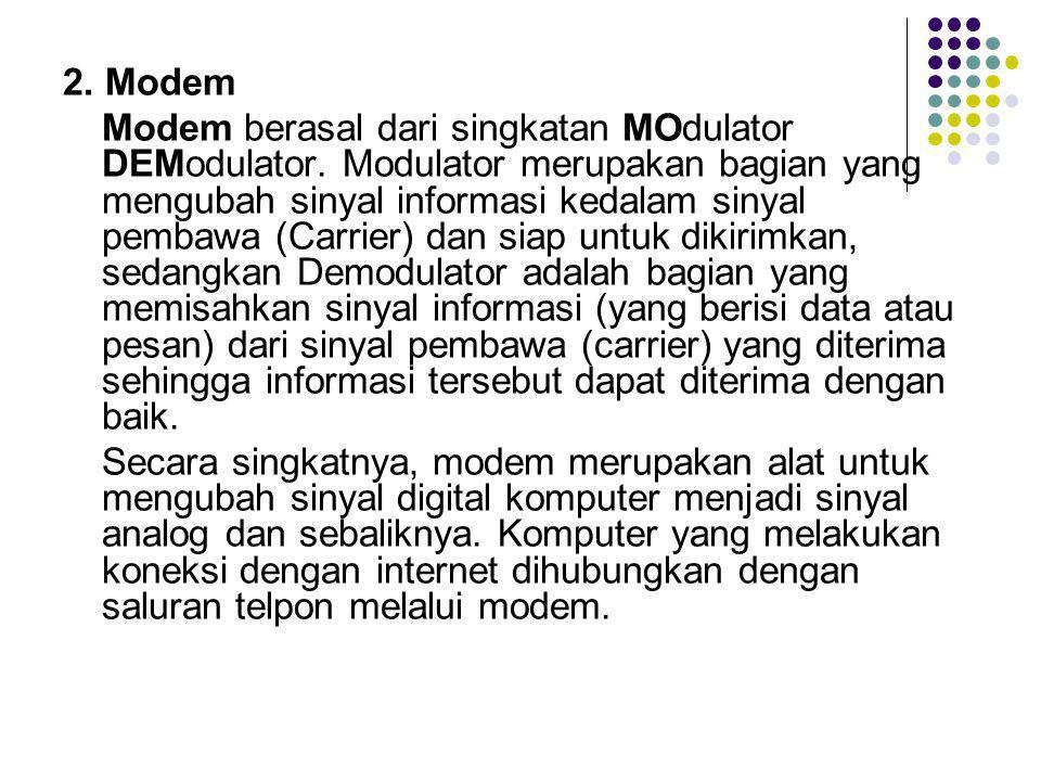 2. Modem
