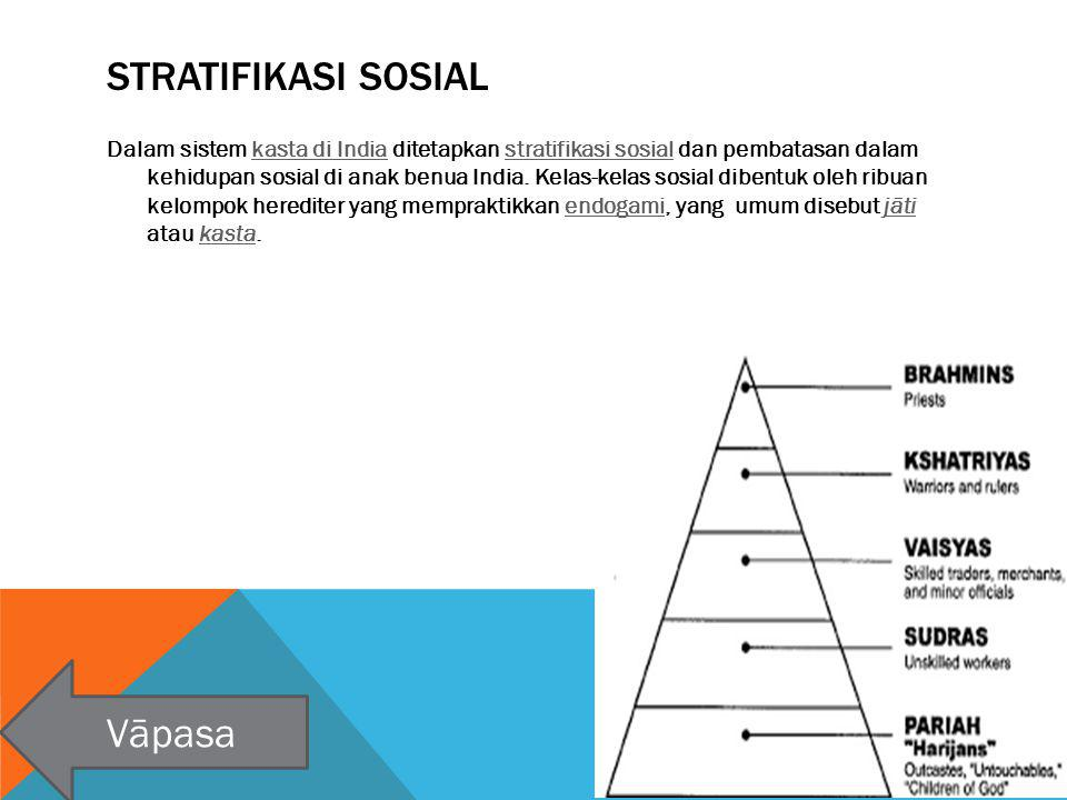 Stratifikasi Sosial Vāpasa