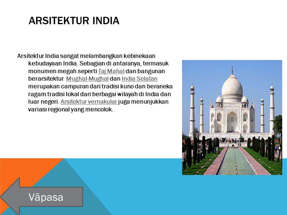 Arsitektur India Vāpasa