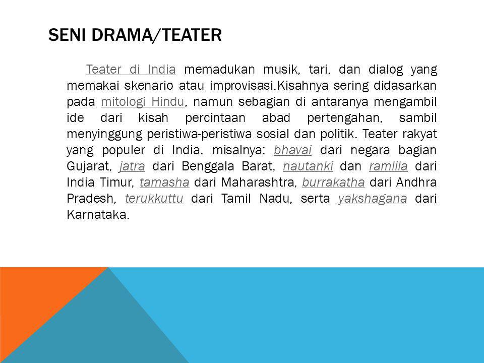 Seni Drama/Teater