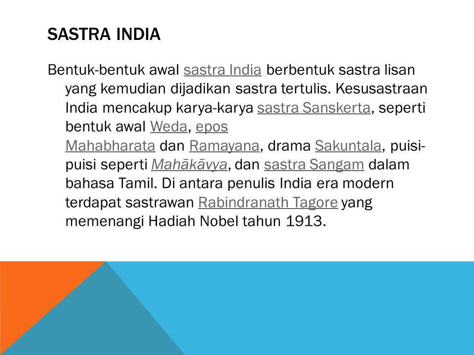 Sastra India