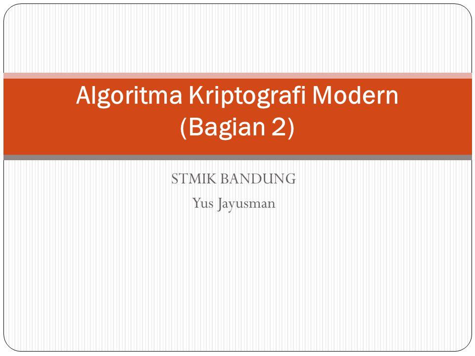 Algoritma Kriptografi Modern (Bagian 2)