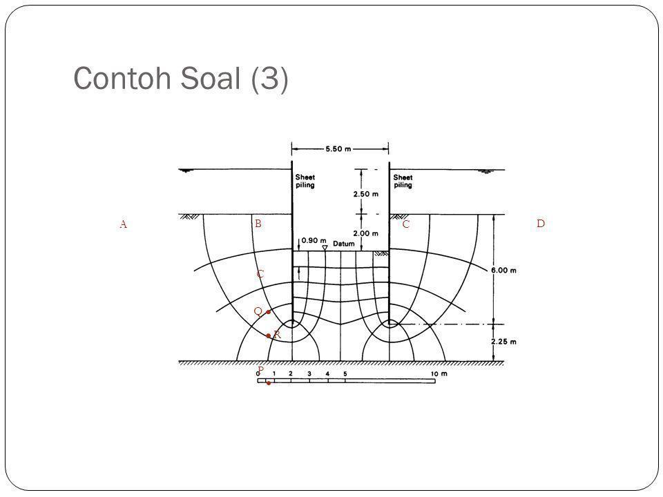 Contoh Soal (3) A B C D C Q R P