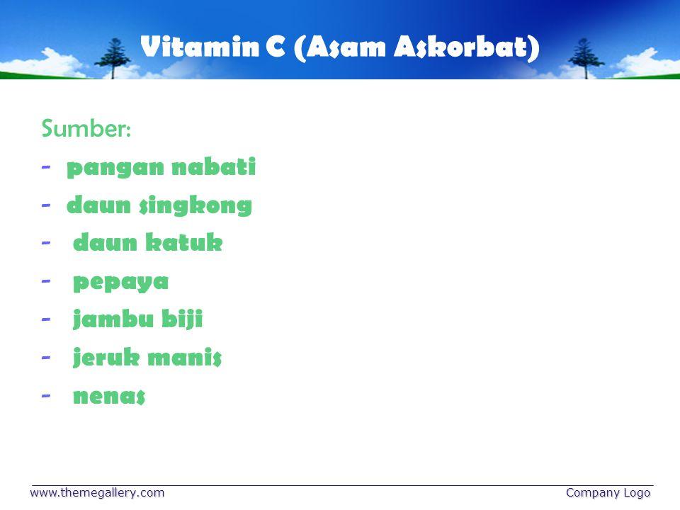 Vitamin C (Asam Askorbat)
