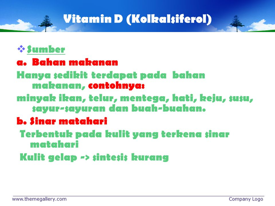 Vitamin D (Kolkalsiferol)