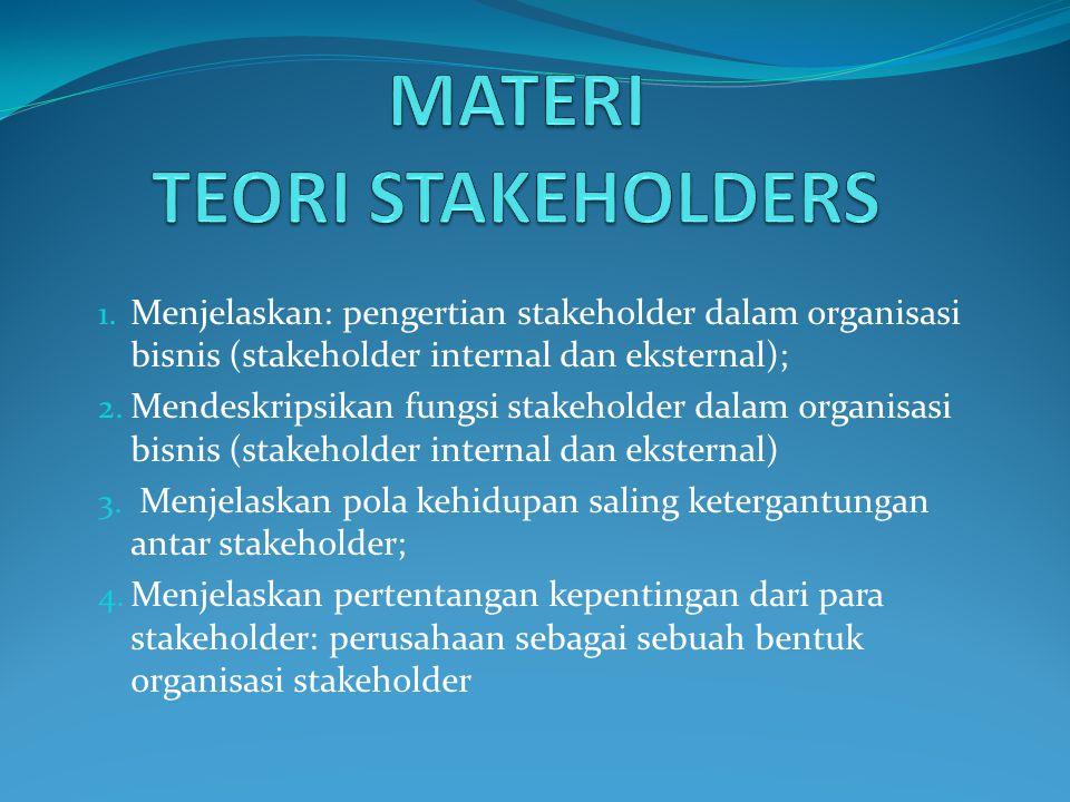 MATERI TEORI STAKEHOLDERS