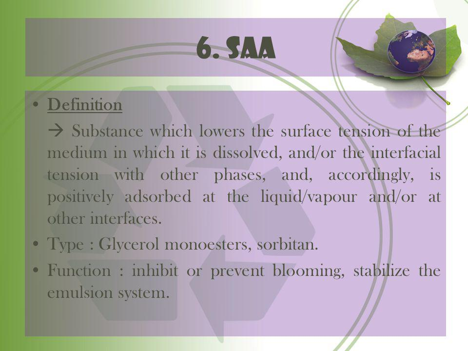 6. saa Definition.