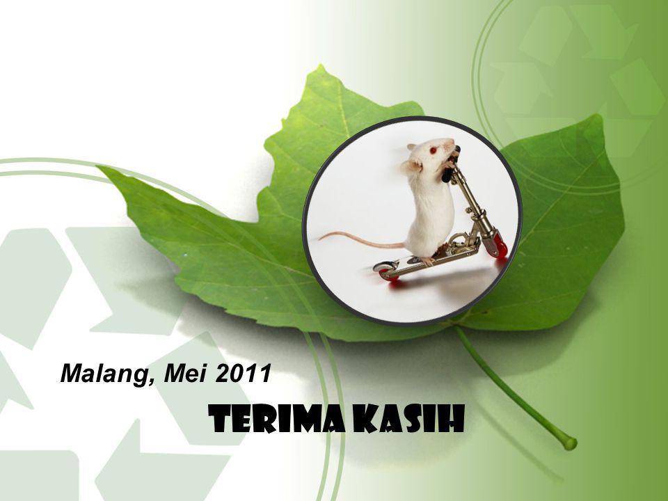 Malang, Mei 2011 Terima kasih