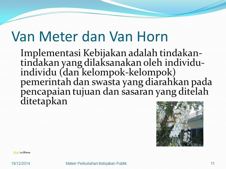 Van Meter dan Van Horn