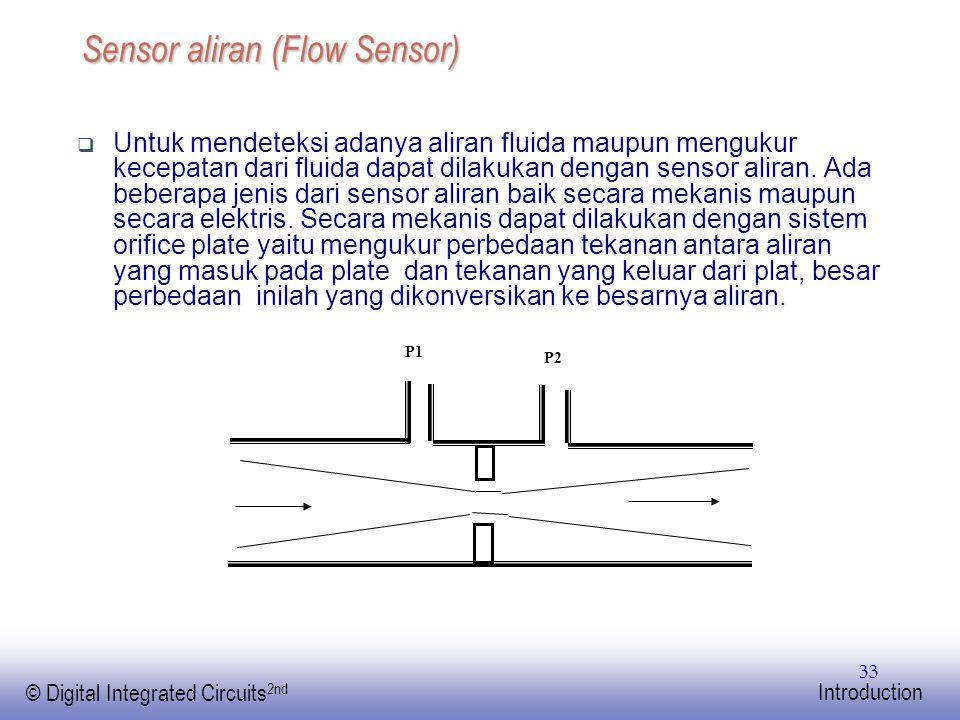 Sensor aliran (Flow Sensor)
