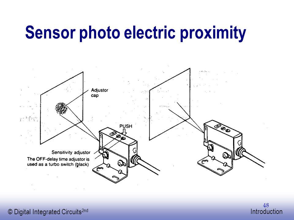 Sensor photo electric proximity